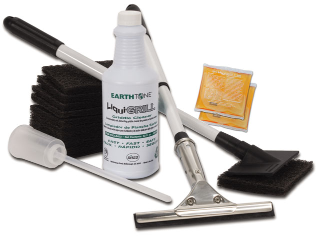Liqui-Grill™ Liquid Griddle Cleaning Starter Kit